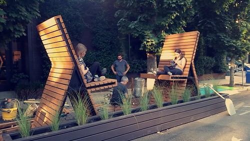 """Installation of """"A Dialogue"""", Center for Architecture, Design Competition Finalist 2014"""