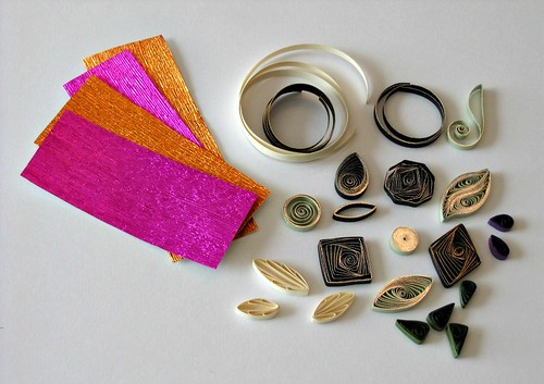 Quilled Shapes - Samples