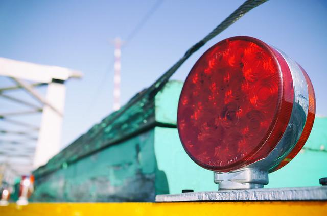 Signal on the bridge