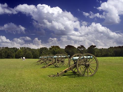 landscape tn civilwar cannon shiloh shilohnationalmilitarypark