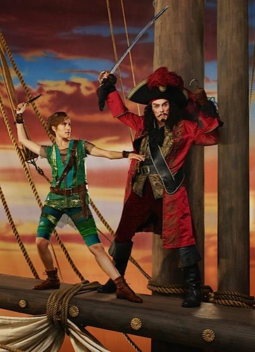 First Look At Christopher Walken as Captain Hook for Peter Pan Live!