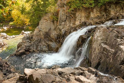 waterfall adirondacks splitrockfalls