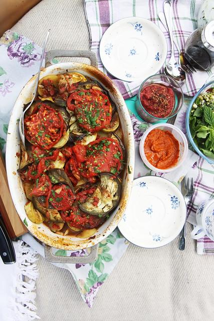 Vegetable Casserole by Olga Irez of Delicious Istanbul