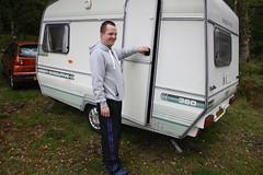 automobile, art, vehicle, trailer, land vehicle, recreational vehicle, travel trailer,