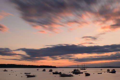 longexposure sunset usa me sunrise harbor us nikon camden maine newengland lobster nikkor lincolnville d800 lobsterboats 2470mm 2470mmf28 byscottphotos