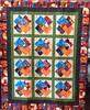 Duane's Winning Hand, 58x73 inch quilt, 2014.