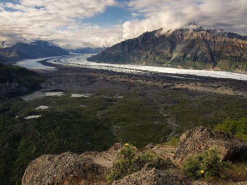 usa alaska glacier lionshead chugachmountains matanuskaglacier