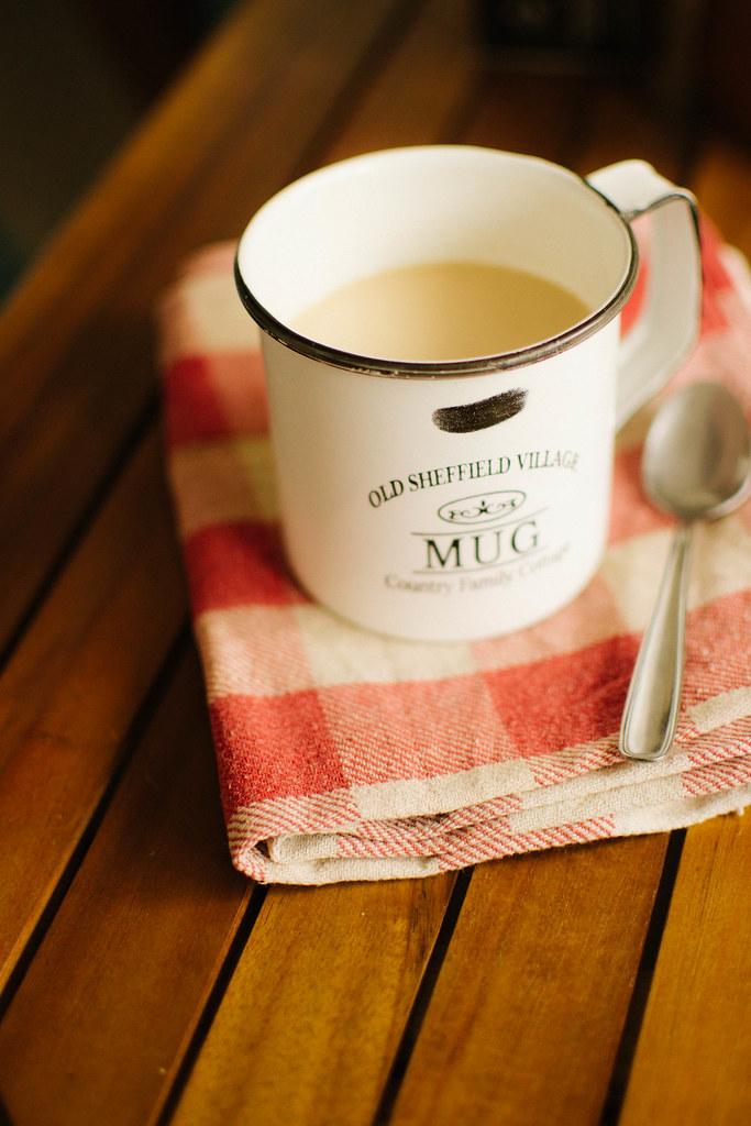 Almond Chai Latte   A Recipe