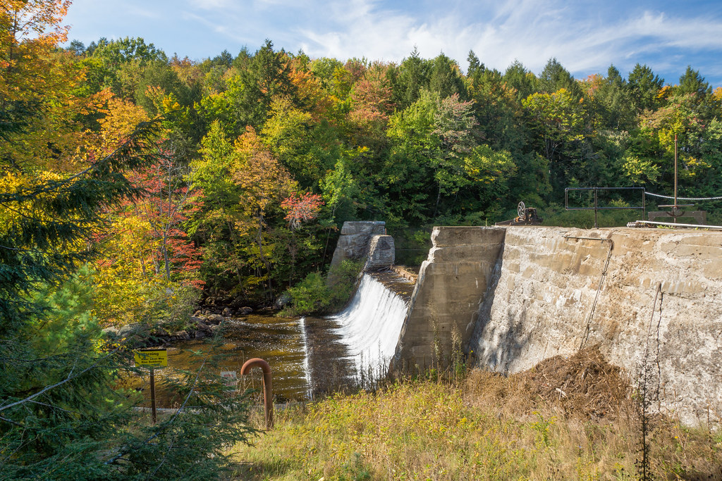Edward Macdowell Dam New Hampshire Around Guides