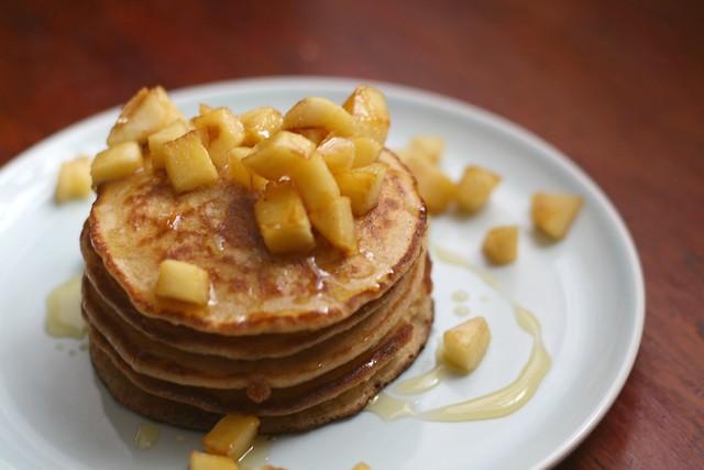 Hotcakes para uno