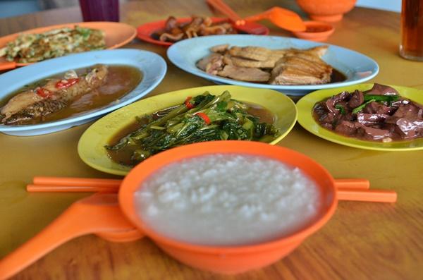 Teochew Porridge Spread