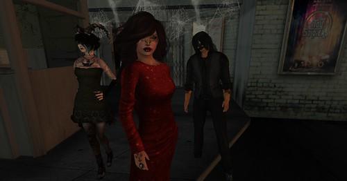 Kai, Leila and David-masquerade ball