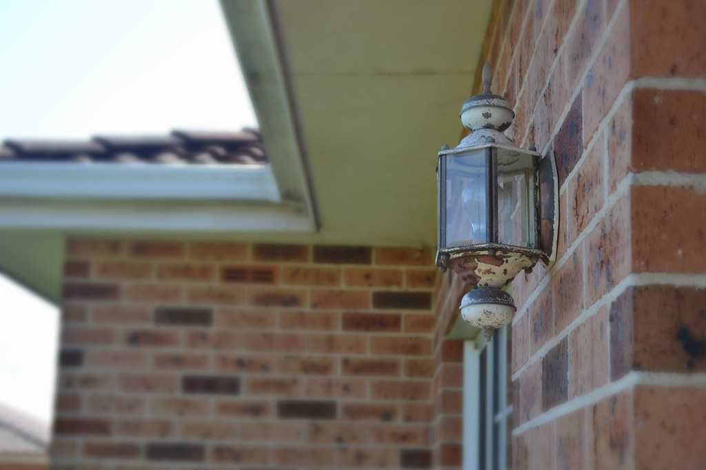 Old exterior lights