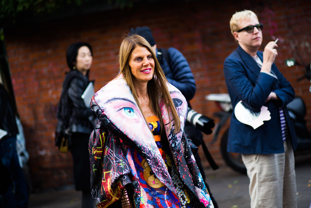 Street Style - Anna Dello Russo, Paris Fashion Week