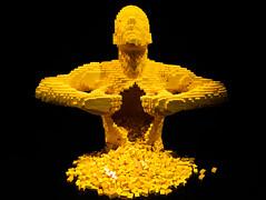 Lego man.