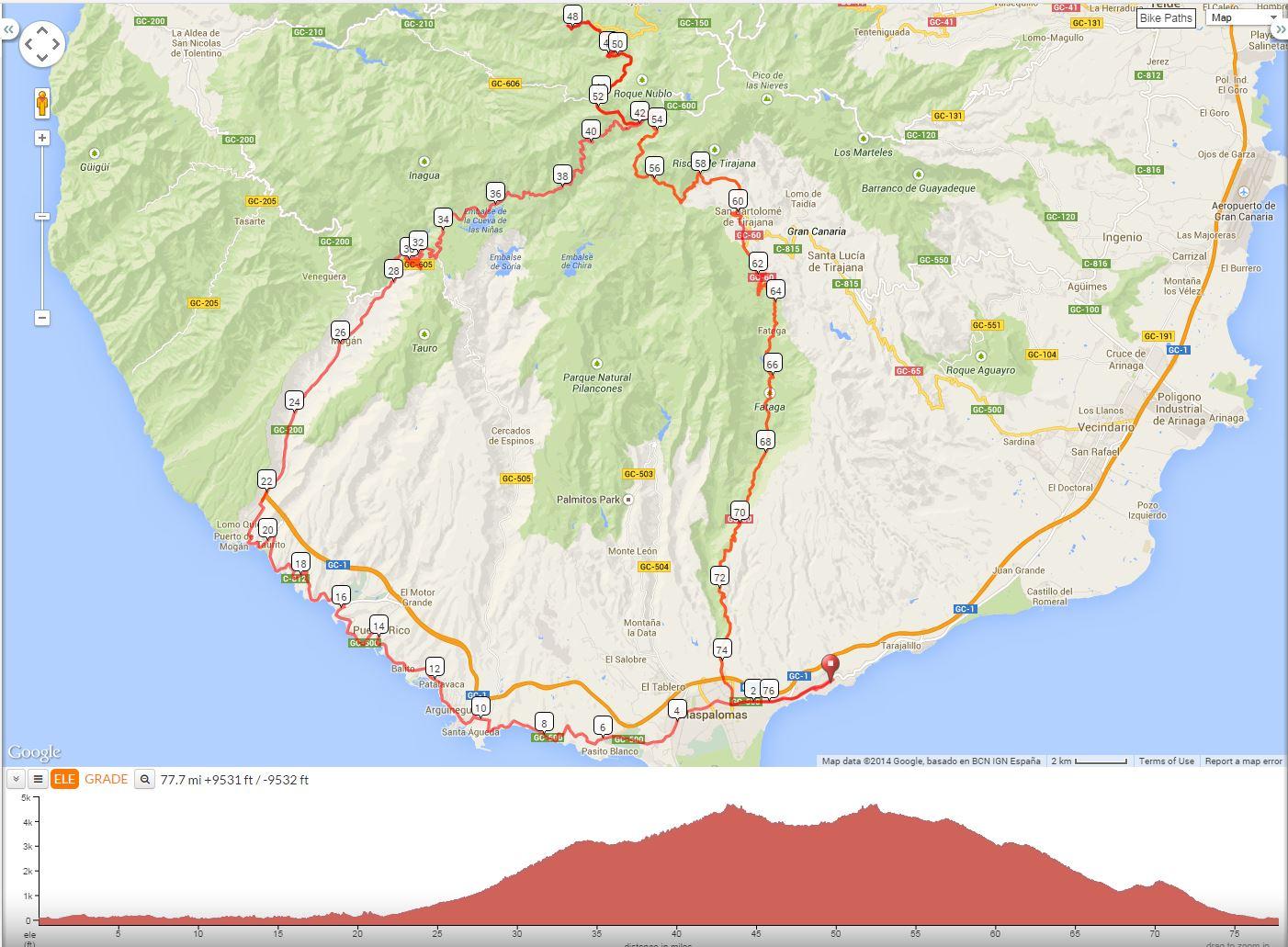 Gran Canaria 615 October BikeRadar Forum