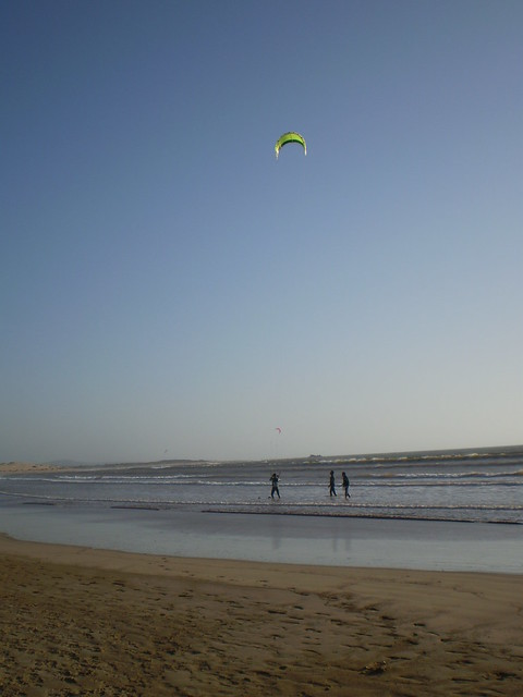 Essaouira is one of the best places in the world to give kitesurfing a try