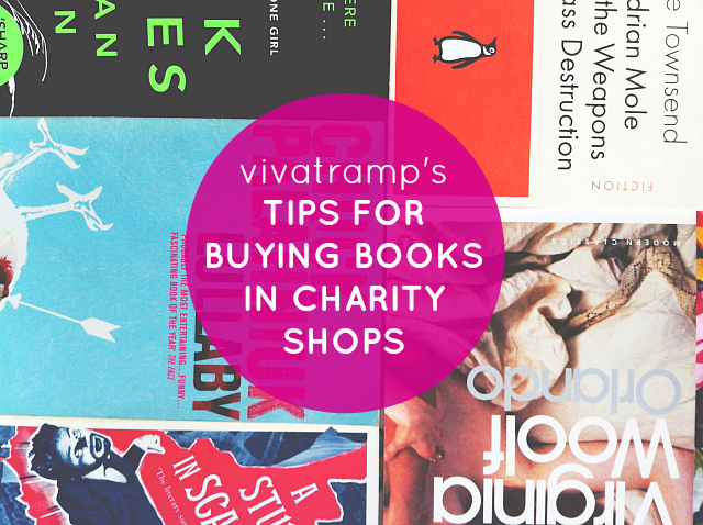 vivatramp uk book blogger lifestyle blog how to buy books in charity shops tips advice thrifty book buying