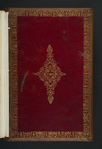 Board from earlier binding in  Cicero, Marcus Tullius: Epistolae ad familiares