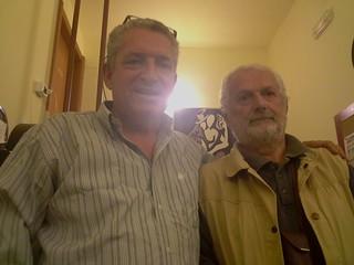 A sinistra, l'ex sindaco Vito De Tommaso