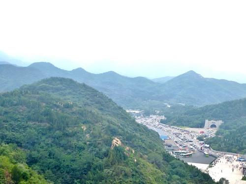 Beijing-Grande Muraille-Téléphérique (1)