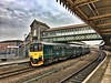 James F Clay posted a photo:	GWR Class 150 DMU at Weston-super-Mare railway station.