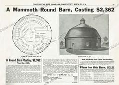 Gordon Van Tine 1910 Round Barn 205