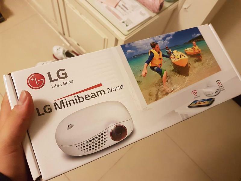 LG minibeam PV150G