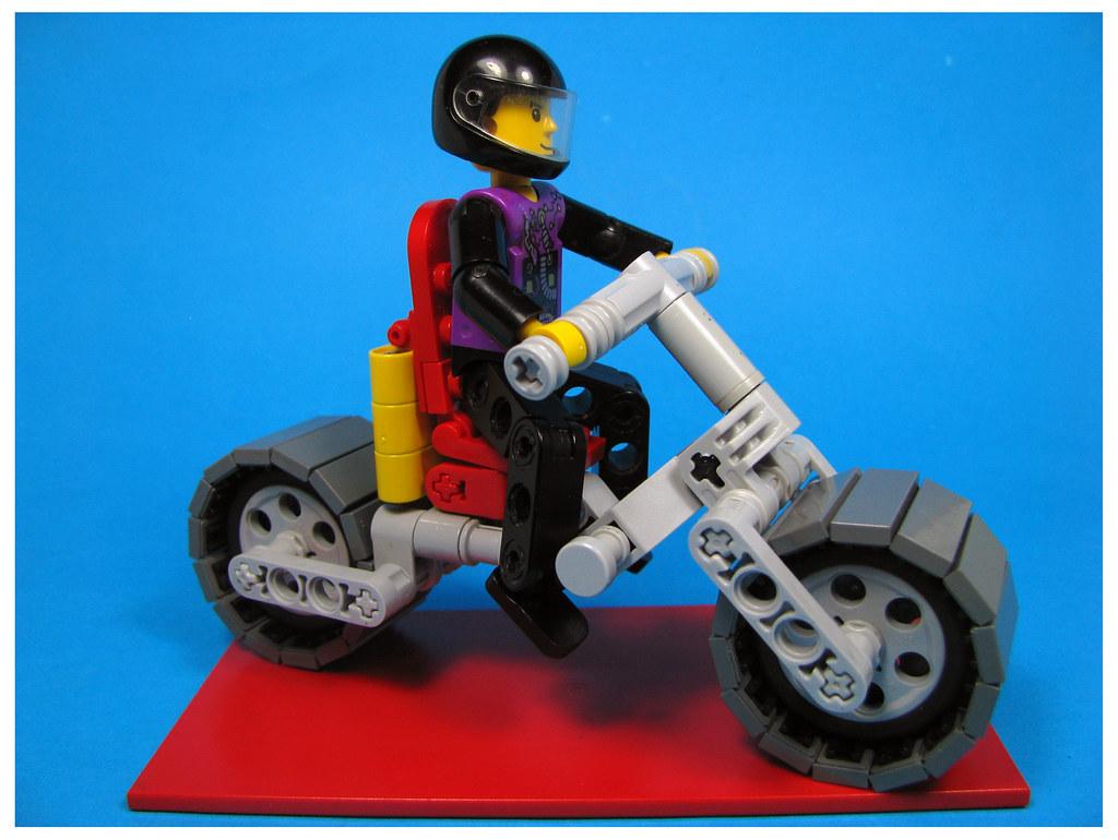 Electro-Tech Bike (custom built Lego model)