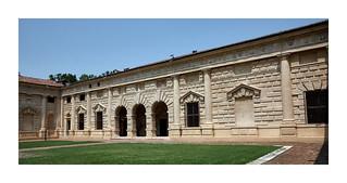 Bild av Palazzo Te. italia mantua pallazote giulioromano arquitectura manierismo c1