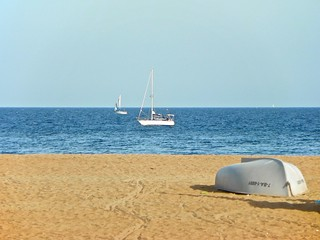 תמונה של Platja del Litoral. catalunya santadriàdelbesòs mar barcelonès