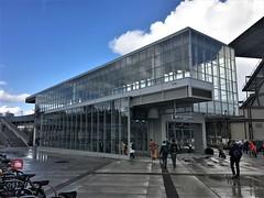 Link Light Rail UW/Husky Stadium Station Exterior Shot, West and South Elevations