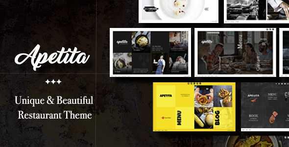 Apetita WordPress Theme free download