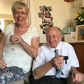 My mum & dad are celebrating their 50th wedding anniversary today!
