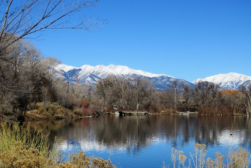 statewildlifearea salida colorado mountains sawatch winter snow sands sandslake lake swa