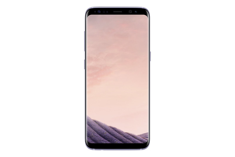 Samsung Galaxy S8 - Orchid Grey - Front