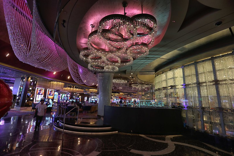 The chandelier bar at the cosmopolitan hotel in las vegas review attribution noncommercial noderivs cosmopolitan hotel chandelier bar las vegas aloadofball Gallery
