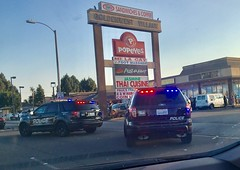Westminster PD at a Traffic Collision on Goldenwest
