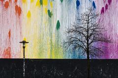Colourspray on the Wall