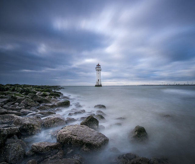 Perch Rock Lighthouse [Explored], Nikon D300S, Sigma 10-20mm F4-5.6 EX DC HSM
