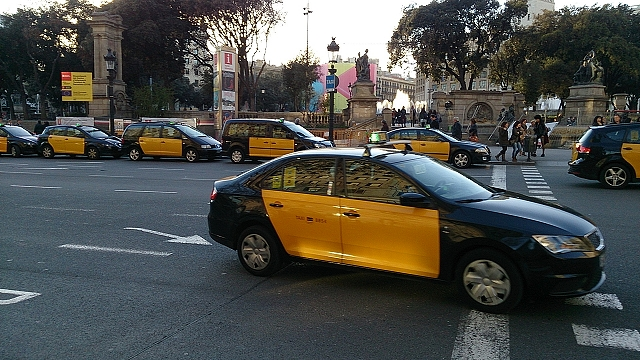 バルセロナのタクシー事情