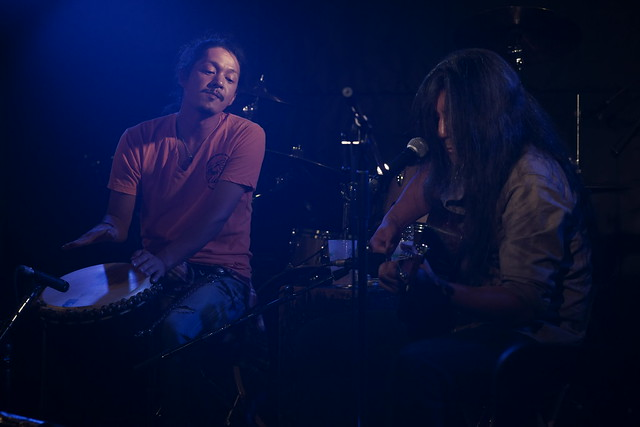 100 FEET live with Naomi at Outbreak, Tokyo, 26 Sep 2014. 050