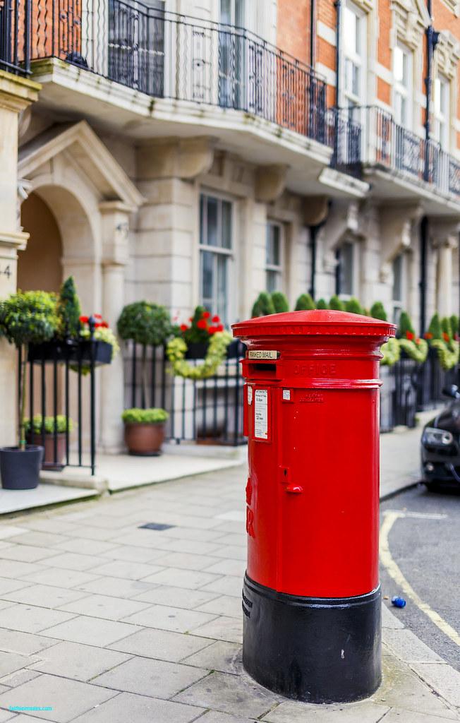cute postal box