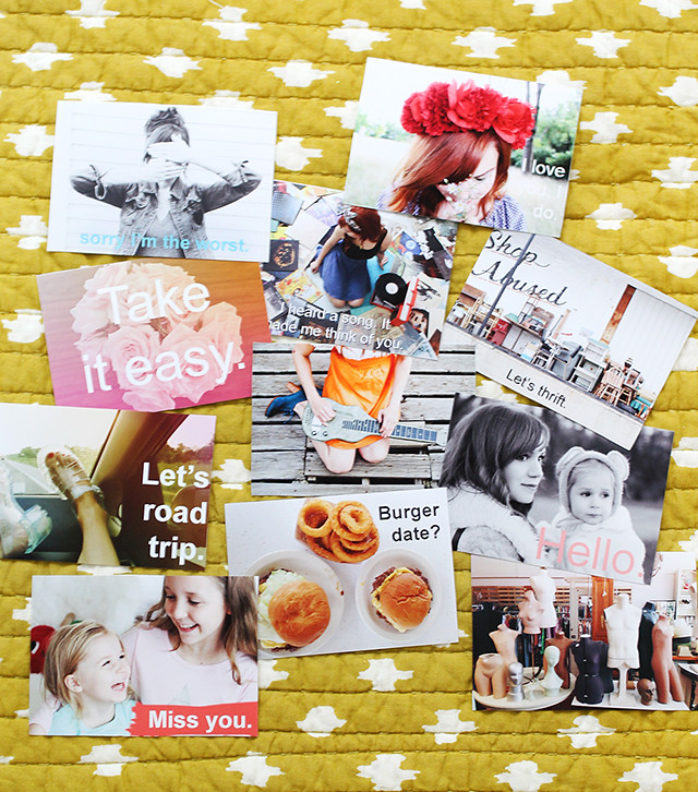 Personalized Post Cards