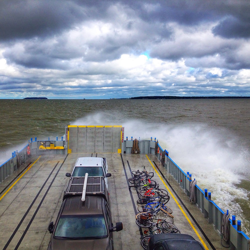 Taking the Miller Ferry over to Put-in-Bay