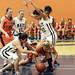 Michelle Bos goes through defense (Sept 27 2014 Allen Douglas)