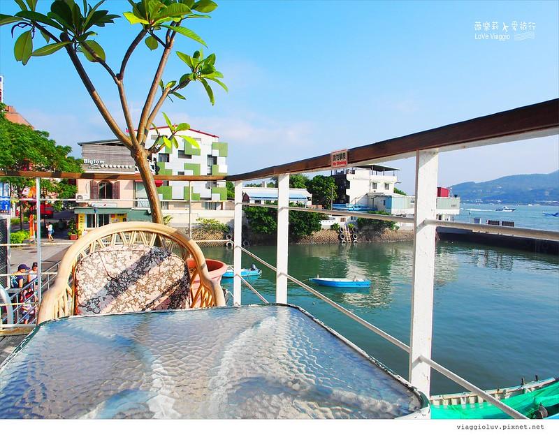 【台北 Taipei】Ancre Cafe 安克黑咖啡 淡水碼頭旁老船屋的下午茶 @薇樂莉 Love Viaggio | 旅行.生活.攝影