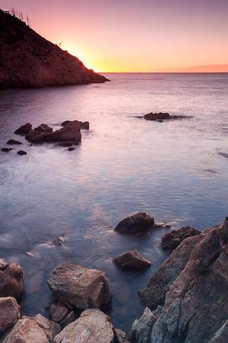 españa costa canon contraluz playa paisaje amanecer dslr castillo ceuta largaexposicion 60d carloslarios