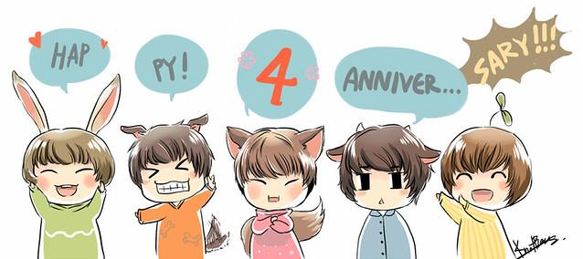 happy 4th anniversary