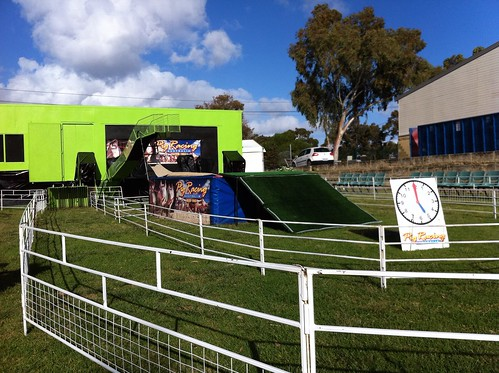 Perth Royal Show 2014: Pig Racing Course and Diving Platform